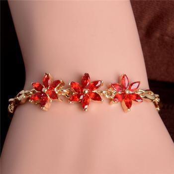 Women's Fashion Colorful Bracelets Bracelets Jewelry New Arrivals Women Jewelry Metal Color: H259