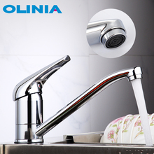 Oliniaก๊อกน้ำห้องครัวก๊อกน้ำTap Tap 360องศาหมุนเครื่องMixerแตะก๊อกน้ำTorneira Cozinha OL7194