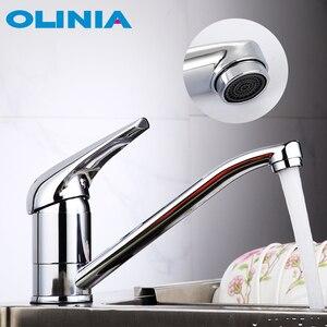 Image 1 - Olinia смеситель для кухни кухонный кран на бортике кран для кухни смеситель кран смеситель для раковины смеситель для кухни OL7194
