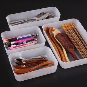 Adjustable Drawer Kitchen Cutlery Divider Case Makeup Storage Box Home Organizer Home Storage Organization Racks Drawer Box