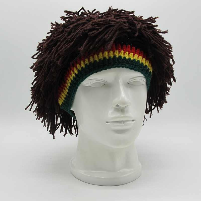 Rasta Népal Bonnet Laine Papillon le reggae Naturmode dreadlocks
