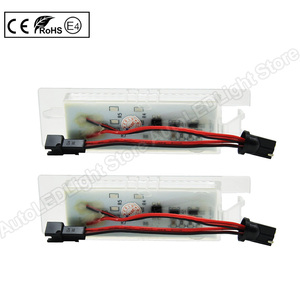 Image 4 - 2Pcs LEDจำนวนใบอนุญาตLight PlateสำหรับFiat Multipla Croma Grande Punto Tipo Punto Seicento Doblo Marea Linea Brava alfa Romeo
