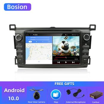 Bosion 2 Din Android 10.0 Car Multimedia DVD Player GPS For Toyota RAV4 Rav 4 2013-2018 Car Radio Octa Core GPS Navigation Wifi image