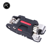PCycling 18 в 1 Набор инструментов для ремонта велосипеда, Набор шестигранных отверток, набор гаечных ключей, цепь, заклепки, Горный цикл, наборы инструментов