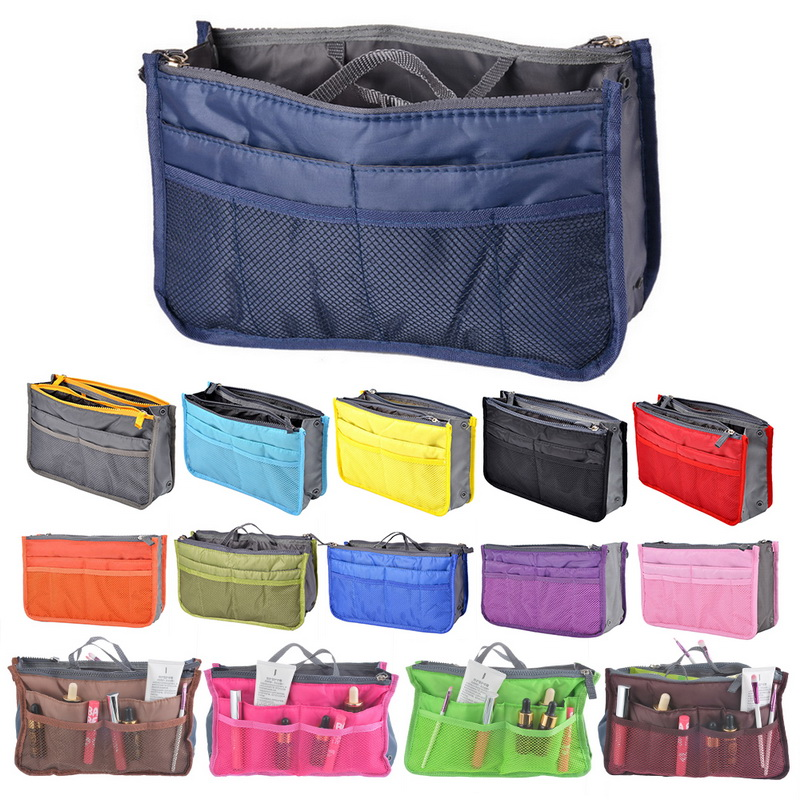 Jodimitty 1Pcs High Quality Portable Fashion Bag In Bags Cosmetic Storage Organizer Makeup Casual Travel Handbag Storage Case