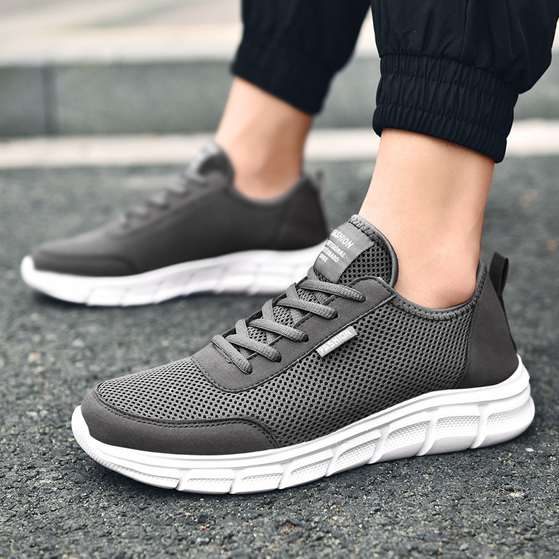 Men Casual Shoes Breathable Outdoor Mesh Light Sneakers Male Fashion Casual Shoes 2020 New Comfortable Casual Footwear Men Shoes 2