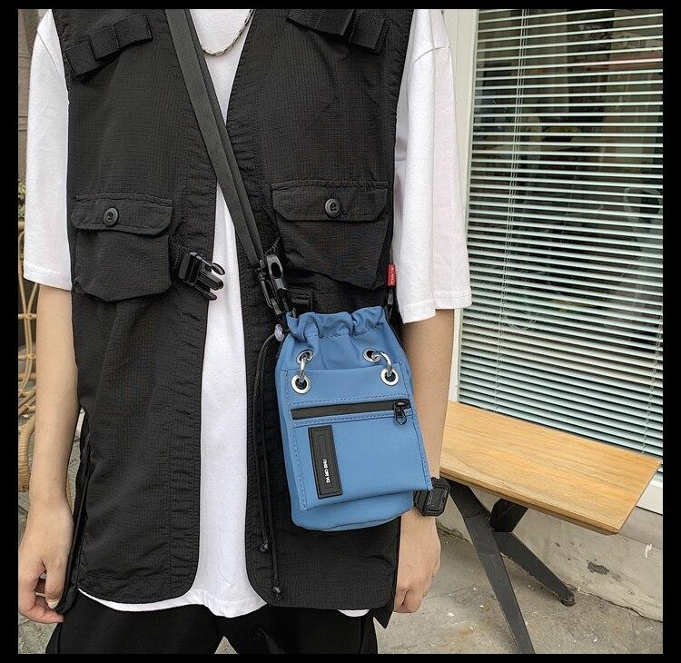 transportar pequena bolsa mensageiro ins moda