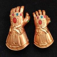 PVC Avengers Alliance to destroy Children Infinite Gloves luminous Gem LED Lamp props