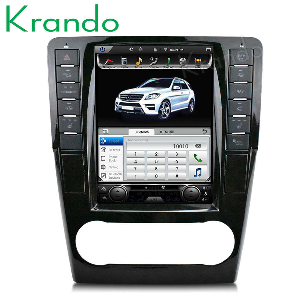 "Krando Autoradio Voor Mercedes Benz Ml 2005-2012 Android 9.0 10.4 ""Tesla Verticale Screen Navigatie Multimedia systeem Wifi"