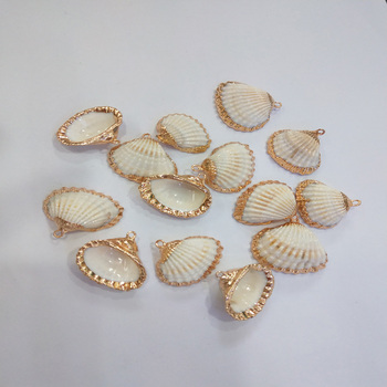 2020 colgantes de concha Natural de moda colgante de collar para joyería hecha a mano accesorios de fabricación de bricolaje collares de ajuste