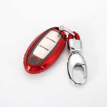 Durable Full Cover New Soft TPU Car Key Case For Nissan Qashqai J10 J11 X-Trail t31 t32 kicks Tiida Pathfinder Murano Note Juke newest car decoration nismo motorsport aluminum stickers decals for nissan tiida teana skyline juke x trail almera qashqai
