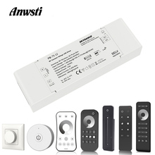 LED Driver Dimmable DC 12V 24V 75W Wireless 2.4G RF Remote Control Push Dimmer Constant Voltage Light 12 Volt Dimming