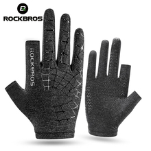 ROCKBROS Summer Men Multifunctional Gloves Ultraviolet-Proof Cycling Touch Screen Riding Bike Bicycle Glove