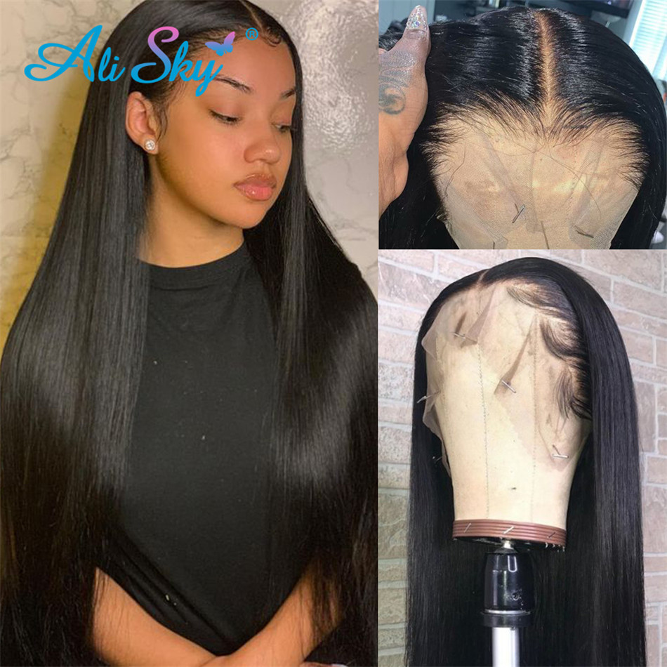 13x4-Lace-Front-Human-Hair-Wigs-For-Women-8-26-Inch-Pre-Plucked-HairLine-150-Malaysian_??
