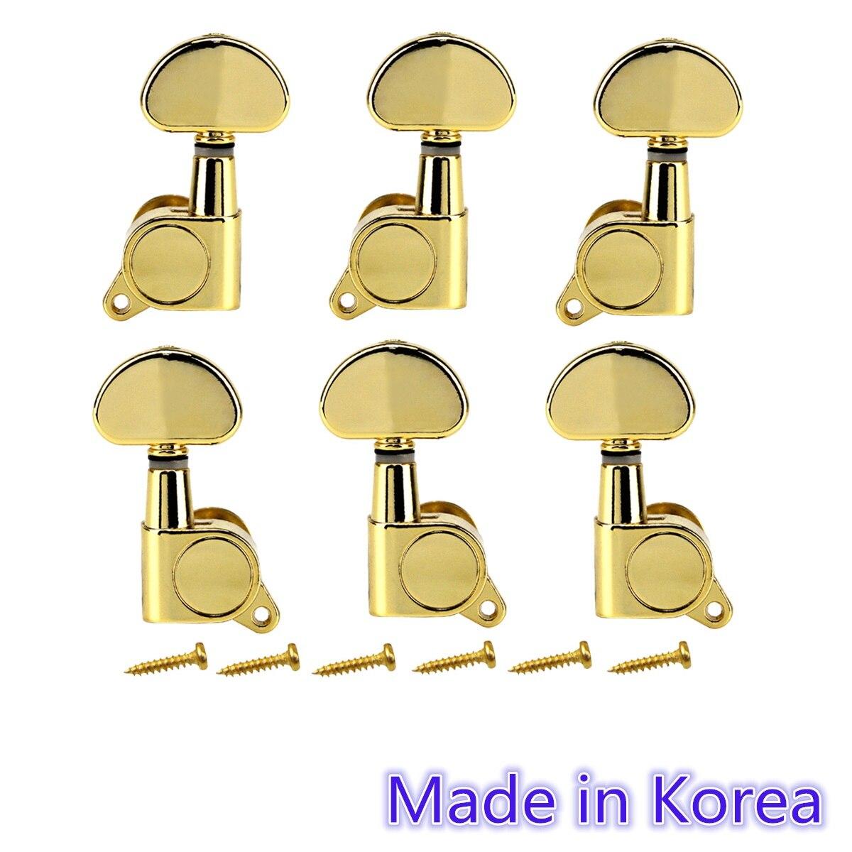 1 GOLD BASS GUITAR MACHINE HEAD ENCLOSED TUNER NEW