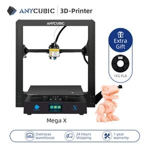 Image 2 - Anycubicメガ × メガシリーズ300*300*305ミリメートル3Dプリンタ大プラス印刷サイズmeanwell電源供給ウルトラベースimpresora 3d