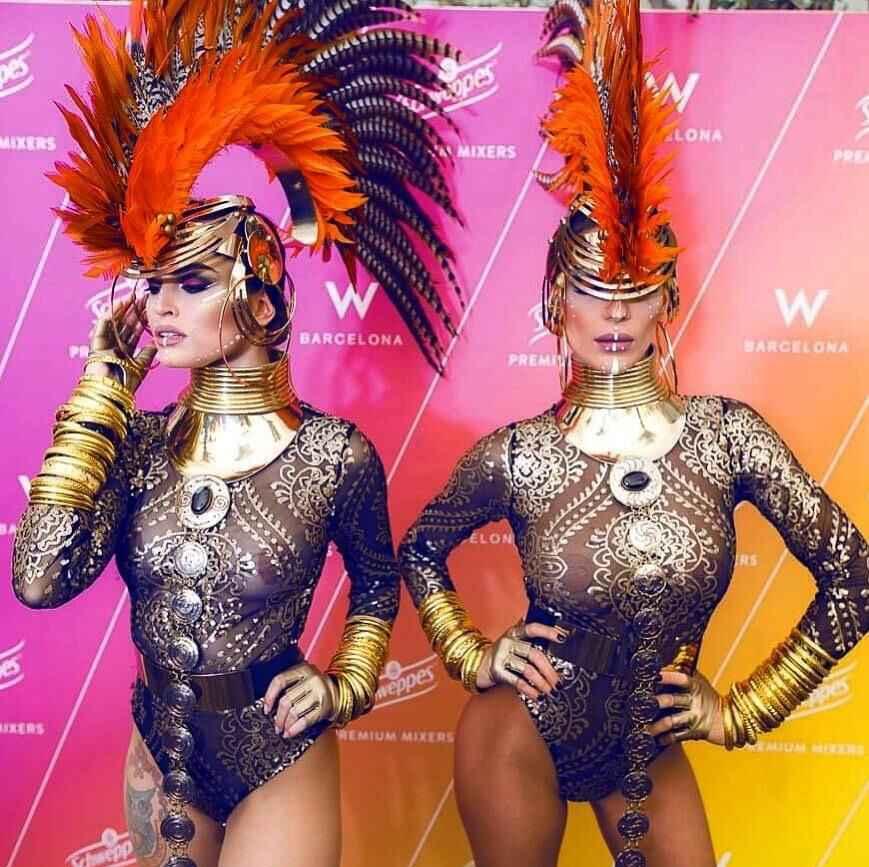 MANILAI Punk แรงบิด Choker สร้อยคอผู้หญิงเครื่องประดับ Maxi Africa Big สร้อยคอ Boho Collier Femme
