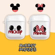Cute Cartoon Mickey Pattern Case For Airpods Bluetooth Wireless Earphone AirPods Protective Soft Cover box