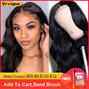 Body Wave Lace Front Wig Short Human Hair Wigs for Black Women 10-28 Inch Brazilian 6x6 Lace Closure Wig Pre Plucked Vrvogue