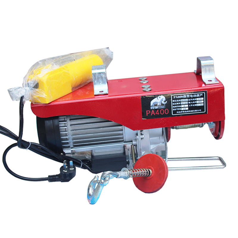 200-1000KG Miniature Electric Hoist Household Miniature Electric Hoist Minitype Crane Hoist