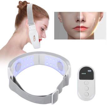 Masażer twarzy EMS wibracja maszyna do odchudzania Lifting skóry terapia fotonowa masażer do twarzy (biała perła) zdrowie i uroda tanie i dobre opinie FILFEEL CN (pochodzenie) Akumulator Other Maszyna wykonana Face Slimming Machine as the picture show as show Pearl White
