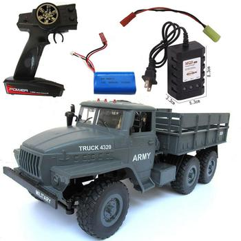 Kuulee MZ YY2004 15KM/H 2.4G 6WD 1/12 Military Truck Off Road RC Car Crawler 6X6 Toys RC Models For Kids Birthday Gift