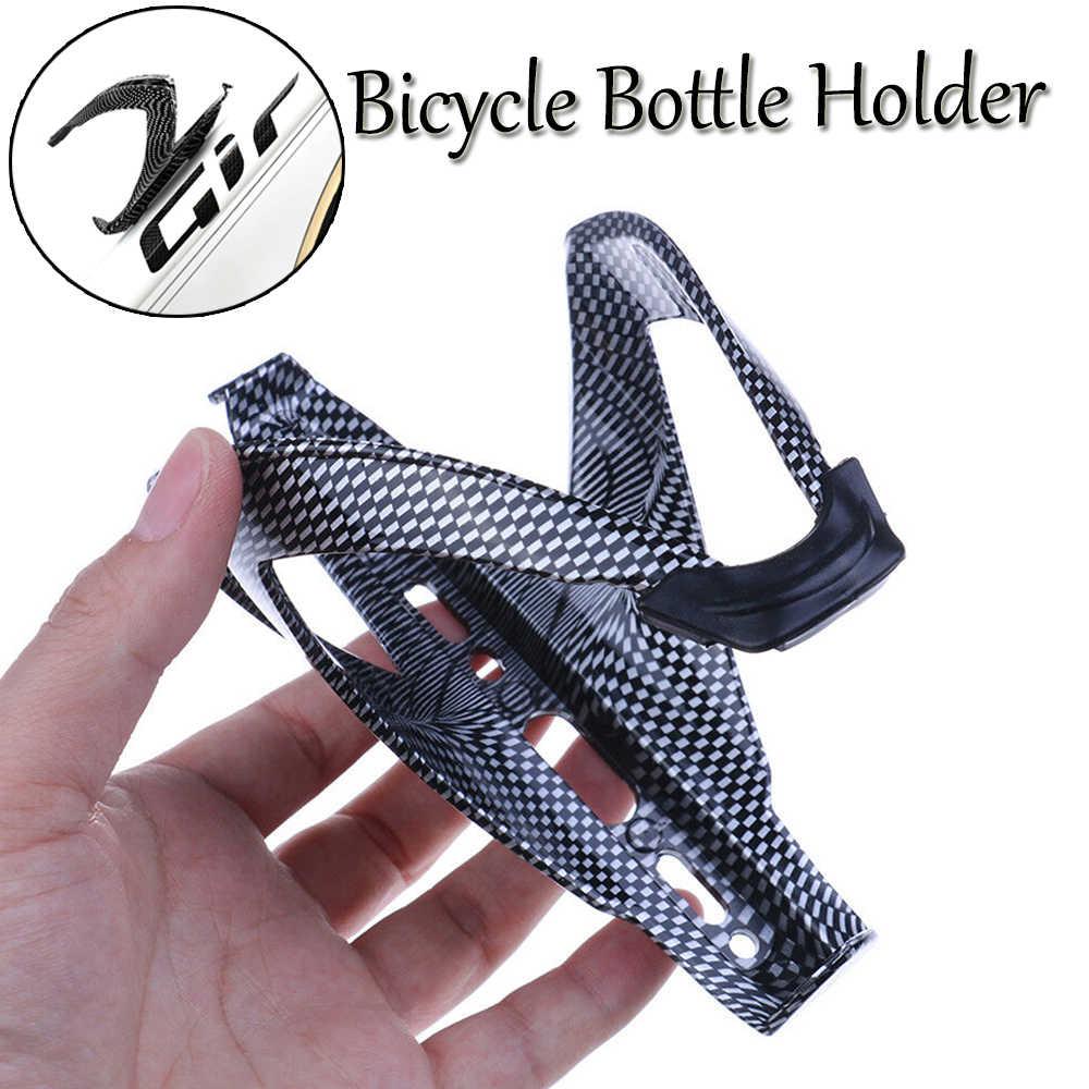Hot Bicycle Bike Carbon Fiber Water Drink Bottle Rack Holder Cage Outdoor BE
