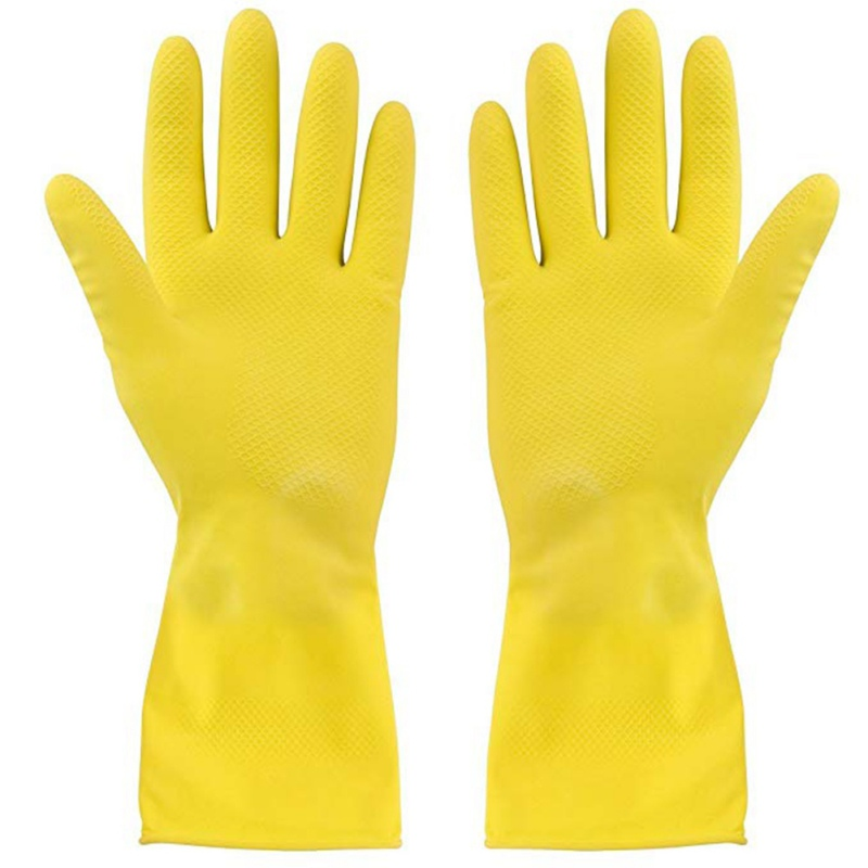 Latex Gloves Dish-Washing Washing Clothes Rubber Gloves Latex Waterproof Housework Gloves