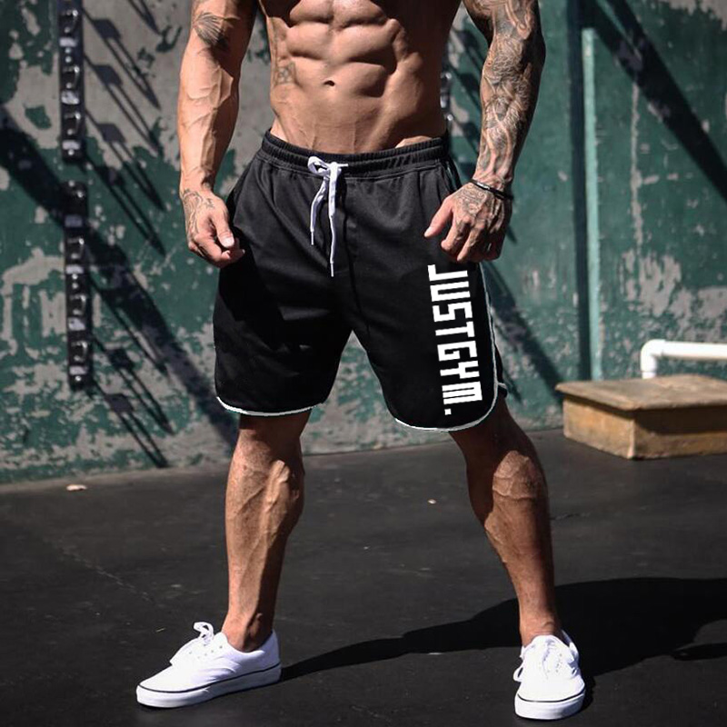 Brand Mens Sports Running Shorts Gym Training Shorts Men Mesh Breathable Quick Dry Outdoor Jogging Short Sweat Pants