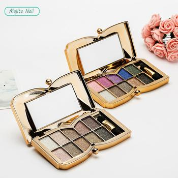 Shining Eyeshadow Pearlescent Makeup Glitter Pigment Smoky Eye Shadow Pallete Waterproof Cosmetics Eye Shadow  Matte Eyeshadow недорого
