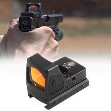 Mira réflex Glock para Rifle de caza, visor óptico de punto rojo RMR con Glock, montaje Universal, disponible en EE. UU.