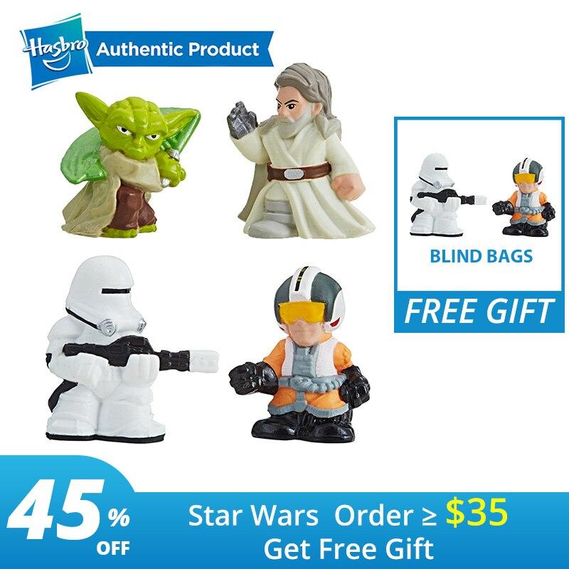 Hasbro Star Wars Série Sacos de Micro Força Cega 3 Battlefront Trailer Interativo | Astromech Droid r2-d2 Clone Trooper Brinquedos