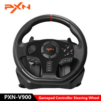 PXN V900 Gamepad Controller Steering Wheel PC Mobile Racing Video Game Vibration for PS3 PS4 Switch Xbox One PC