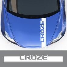 Para chevrolet cruze 1.5l 1.4t eco premier sedan fwd ls ltz 2019 nuevo 2020 acessórios do carro capô adesivo do carro capô vinil decalque