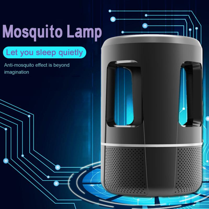 2020 NEW Home Electric Shock Type Mosquito Killer Lamp USB Power No Radiation Quiet Insect Grill Flies Trap Catcher LED Lamp