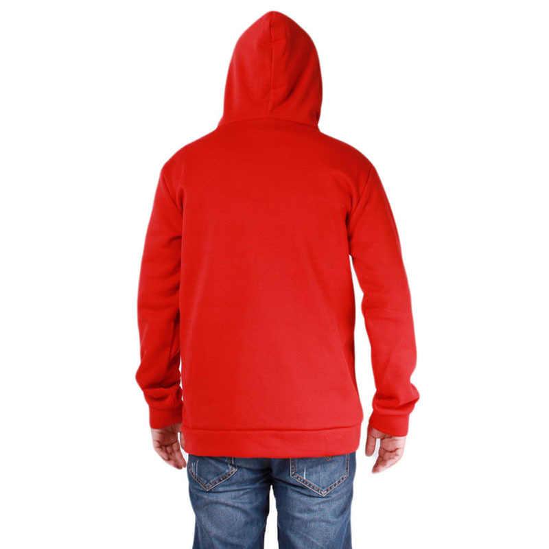 남자 축구 유니폼 지퍼 편지 인쇄 남자 아우터 가을 겨울 남자 스포츠웨어 피트 니스 스웻 셔츠 겉옷 4XL
