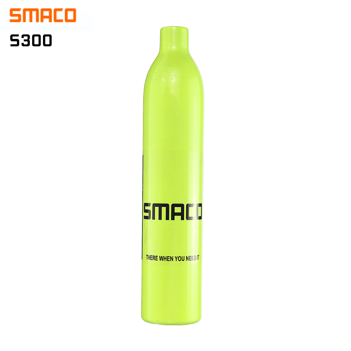 SMACO S300 0.5L Diving Equipment Mini Scuba Diving Cylinder Scuba Oxygen Cylinder Air Tanks Without Head