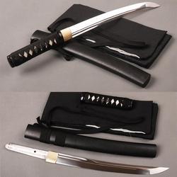 Brandon Schwerter Sharp Japanischen Samurai Tanto Schwert Handgemachten Carbon Stahl Messer Voller Tang Doppel Hallo Unokubitsukuri Schwert
