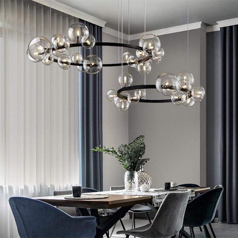cheapest Modern Led Pendant Lights For Living Bedroom Restaurant Dining Kitchen White Black Gold Aluminum Cord Lamp Luminaire Lustre