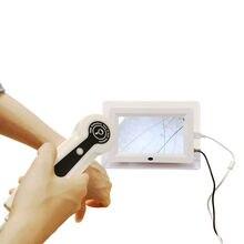 Máquina facial do analisador do cabelo do detector da pele digital dermoscopy dispositivo da beleza dos cuidados com a pele