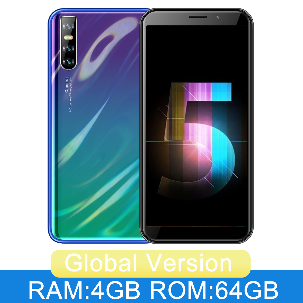 "P20 6.0 ""Volle Bildschirm Smartphone 4GB RAM 64GB ROM Quad Core 13MP Hinten Kamera Gesicht Entsperren WCDMA/GSM/LTE Dual Sim Karte Handy"