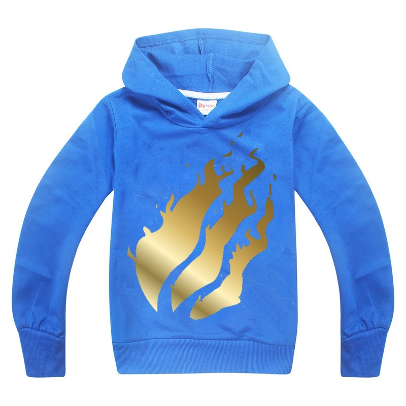 Teenage PRESTONPLAYZ Black Shirts For Girls Boys Preston Playz Long Sleeve T Shirt Fortnight Hoodies Hip-hop Tops Grinch Clothes