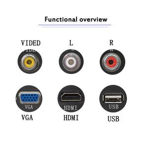 Image 3 - Aluminium Alloy Socket panle  VGA HDMI USB VIDEO R L port pd socket welding patch extension board Black brushed panel