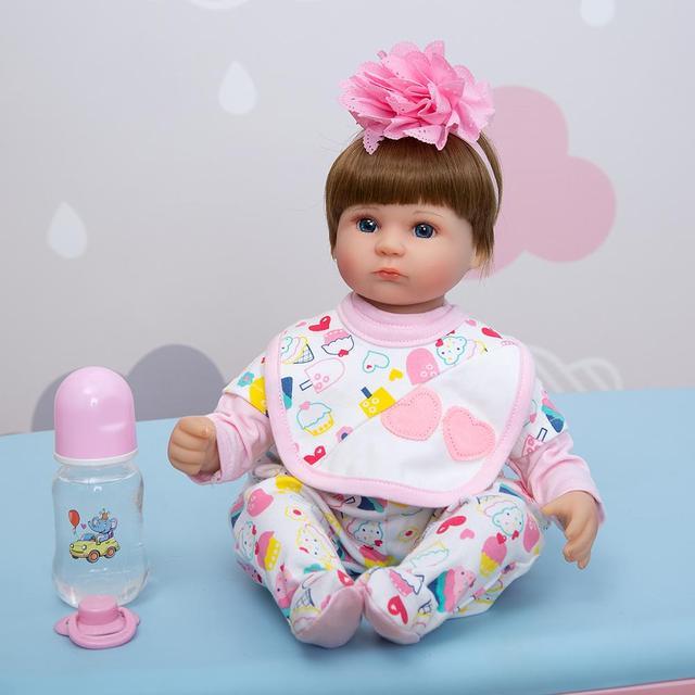 keiumi реалистичные детские куклы reborn 17 ''42 см фотография