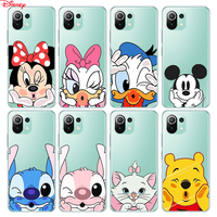 Cubierta de silicona Diseny adorable Minnie para Xiaomi Mi nota 11 11i 10i 10T 10 9 9T SE 8 Lite Pro funda del teléfono Ultra