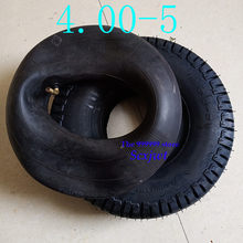 4 Stuks 4.00-5 Ouderen Scooter Wheel Tyre Mini Moto Auto Elektrische Scooter Band Speciale Lopen 400-5 inch Band Binnenband(China)
