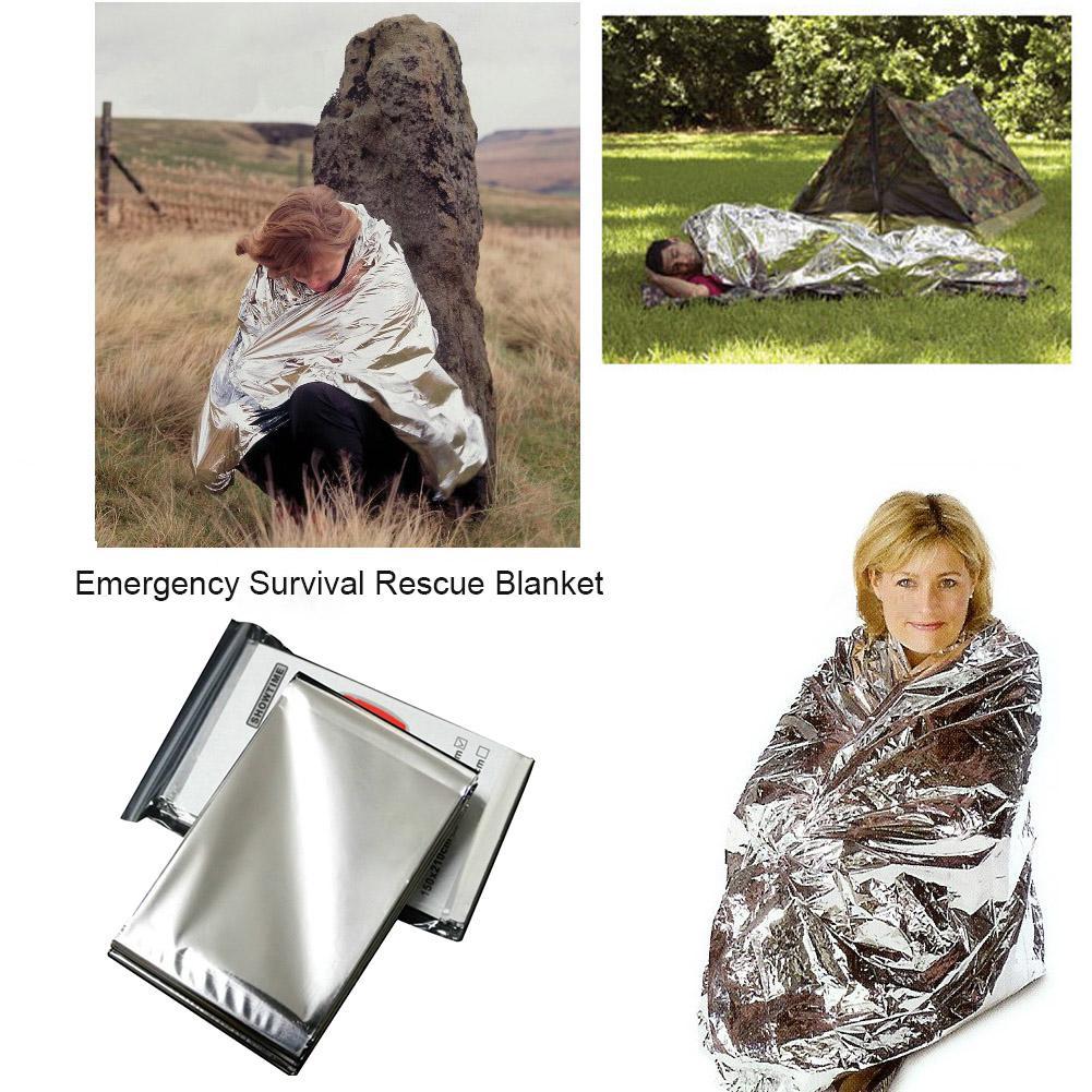 Waterproof 140x210cm Emergency Survival Rescue Blanket Foil Thermal Curtain