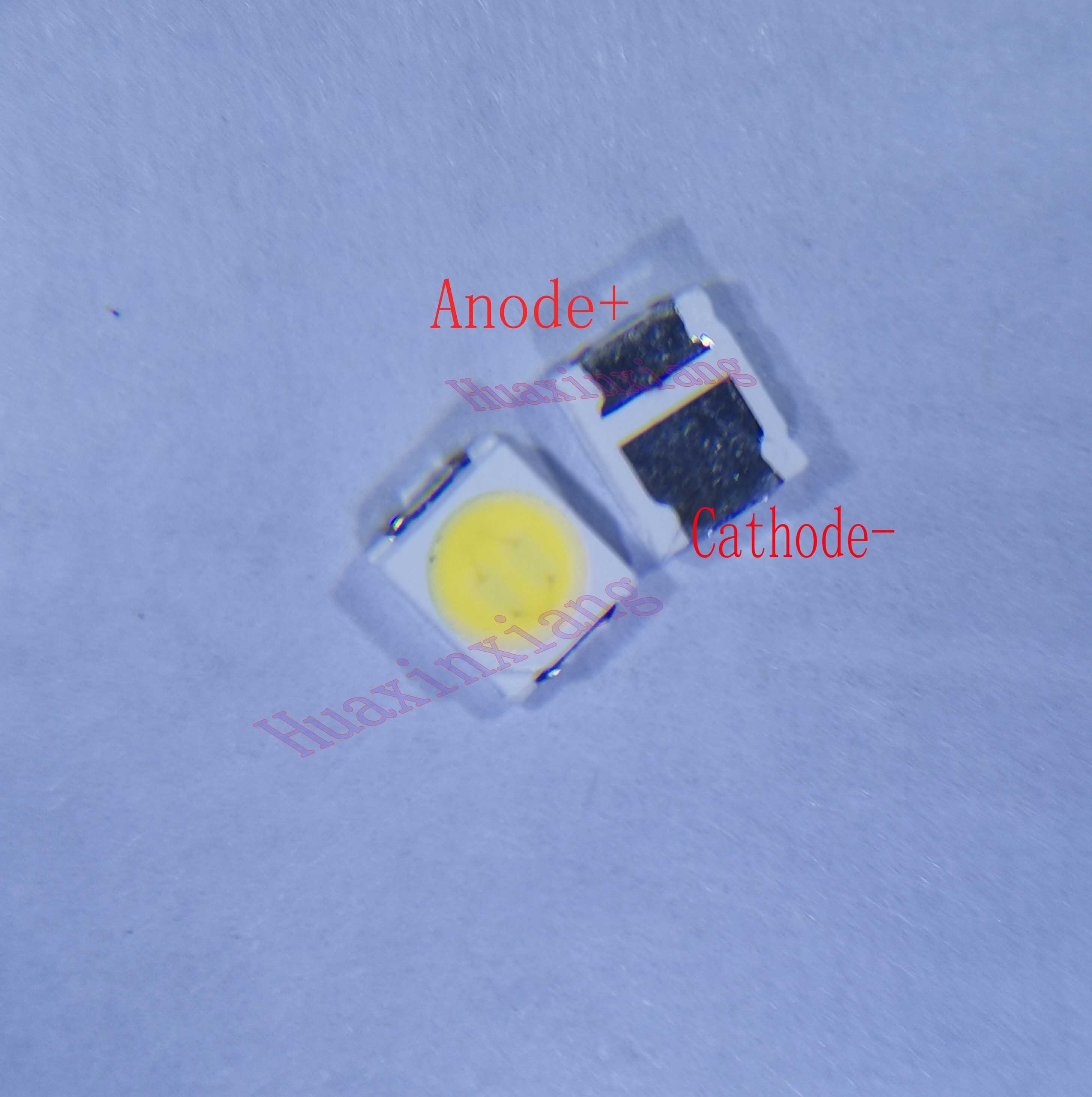 500pcs/Lot Lextar 3528 2835 3V 1.8W 500mA Cool White For TV LCD Backlight Application