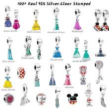 Perles de rêve en argent Sterling 925 véritable, convient aux bracelets originaux, pendentifs de robe, bijoux de maman, cadeau de bricolage