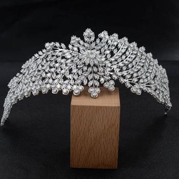 2020 New Cubic Zirconia Bridal Wedding Soft Headband Hairband Tiara Hair Jewelry Accessories Hairpieces CHA10039